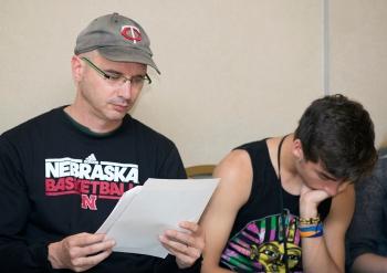 At the Gloria Shields Workshop July 2, 2014 in Carrollton, Texas. (Matt Garnett / Argyle High School)